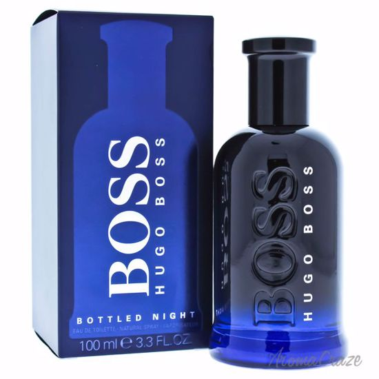 Hugo Boss Bottled Night EDT Spray for Men 3.3 oz