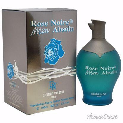 Giorgio Valenti Rose Noire Men Absolu EDT Spray for Men 3.3