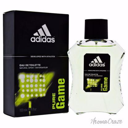Adidas Eau de Toilette Spray for Men, Pure Game, 3.4 Oz