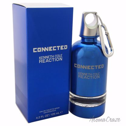 Kenneth Cole Reaction Connected EDT Spray for Men 4.2 oz