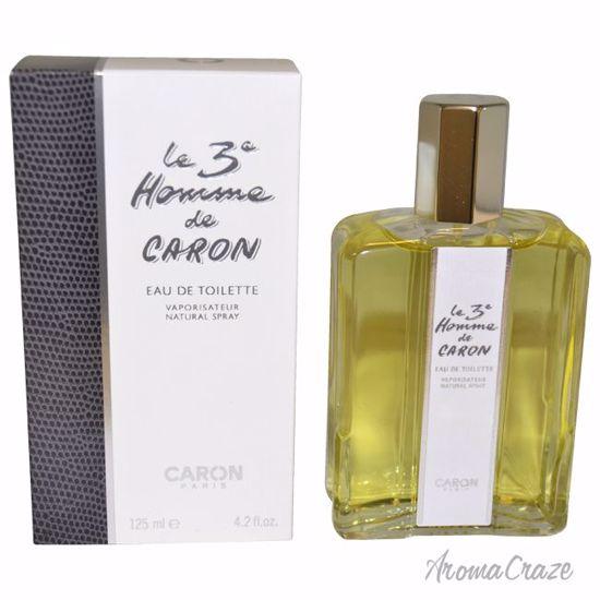 Caron Le 3e Homme EDT Spray for Men 4.2 oz