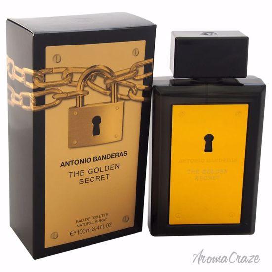 Antonio Banderas The Golden Secret EDT Spray for Men 3.4 oz