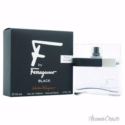 Salvatore Ferragamo F Black EDT Spray for Men 1.7 oz