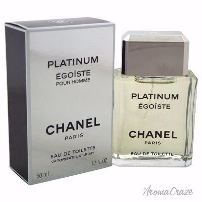 Chanel Egoiste Platinum EDT Spray for Men 1.7 oz