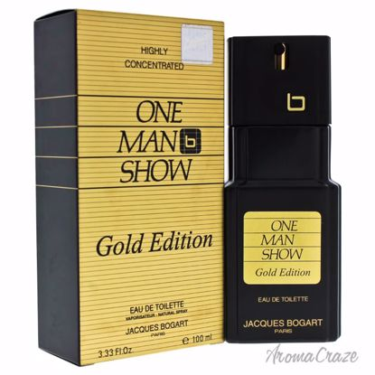 Jacques Bogart One Man Show EDT Spray (Gold Edition) for Men