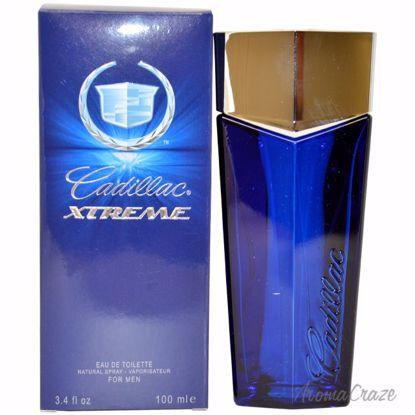 Cadillac Xtreme EDT Spray for Men 3.4 oz