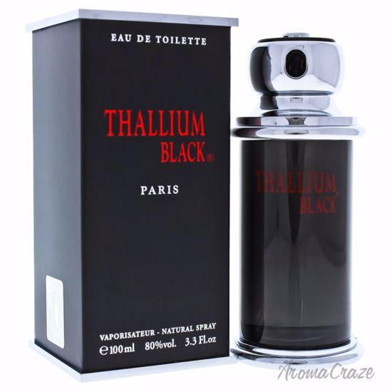 Jacques Evard Thallium Black EDT Spray for Men 3.3 oz