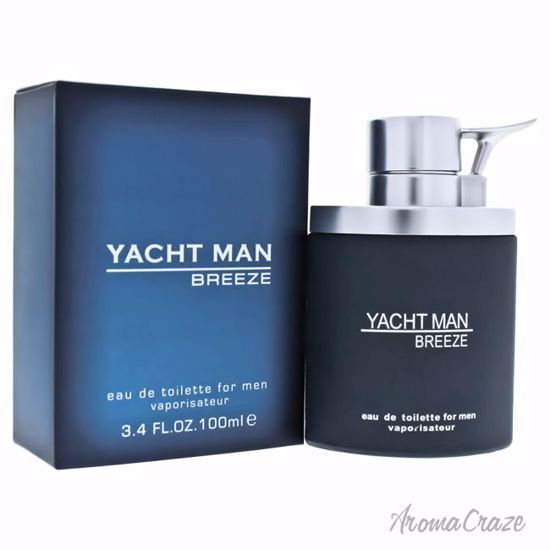 Myrurgia Yacht Man Breeze EDT Spray for Men 3.4 oz