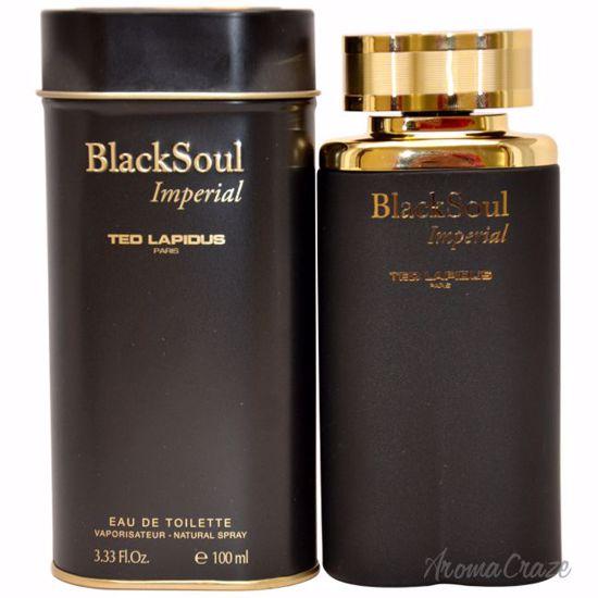Ted Lapidus Black Soul Imperial EDT Spray for Men 3.33 oz