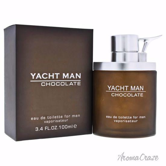 Myrurgia Yacht Man Chocolate EDT Spray for Men 3.4 oz