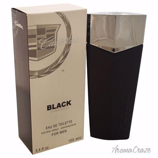 Cadillac Black EDT Spray for Men 3.4 oz