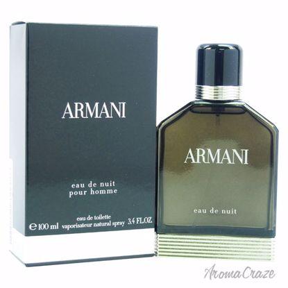 Armani by Giorgio Armani Eau De Nuit EDT Spray for Men 3.4 o