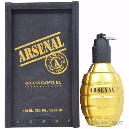 Gilles Cantuel Arsenal Gold EDP Spray for Men 3.4 oz