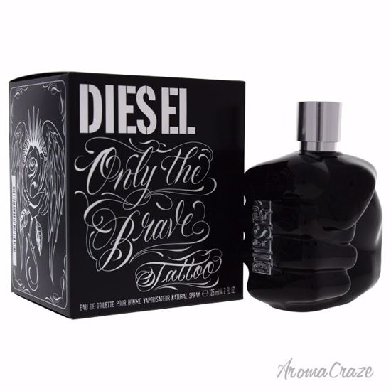 Diesel Only The Brave Tattoo EDT Spray for Men 4.2 oz