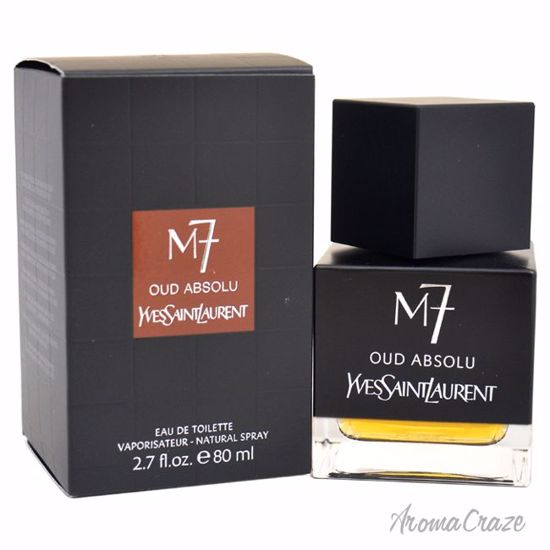 Yves Saint Laurent M7 Oud Absolu EDT Spray for Men 2.7 oz