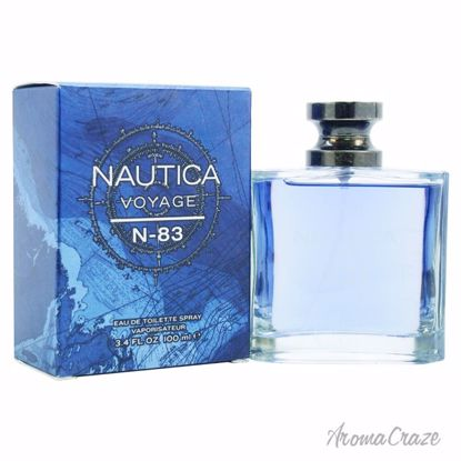 Nautica Voyage N83 EDT Spray for Men 3.4 oz