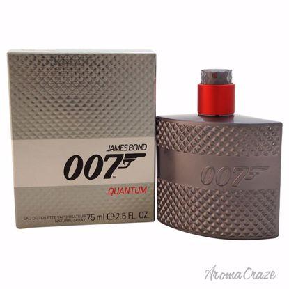 James Bond James Bond 007 Quantum EDT Spray for Men 2.5 oz