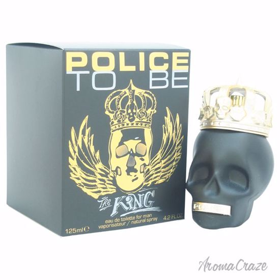 Police To Be The King EDT Spray for Men 4.2 oz