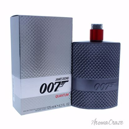 James Bond James Bond 007 Quantum EDT Spray for Men 4.2 oz