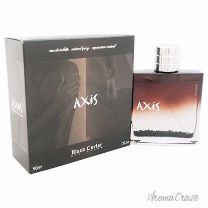 SOS Creations Axis Black Cavier EDT Spray for Men 3 oz