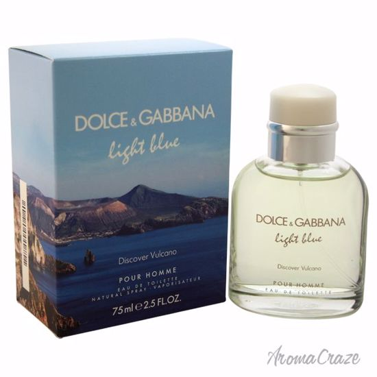 Dolce & Gabbana Light Blue Discover Vulcano EDT Spray for Me