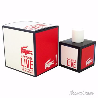 Lacoste Live EDT Spray for Men 3.3 oz