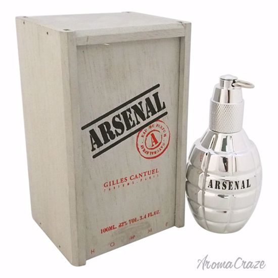 Gilles Cantuel Arsenal Platinum EDP Spray for Men 3.4 oz