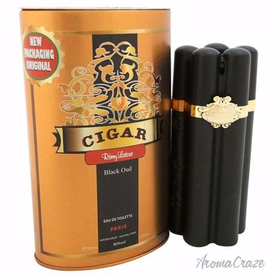 Remy Latour Cigar Black Oud EDT Spray for Men 3.3 oz