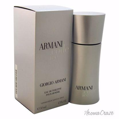Armani by Giorgio Armani Code Ice EDT Spray for Men 1.7 oz