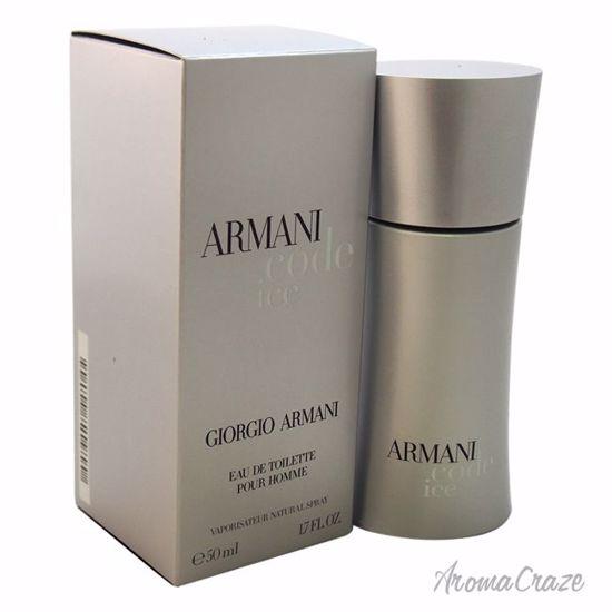 Armani By Giorgio Armani Code Ice Edt Spray For Men 17 Oz
