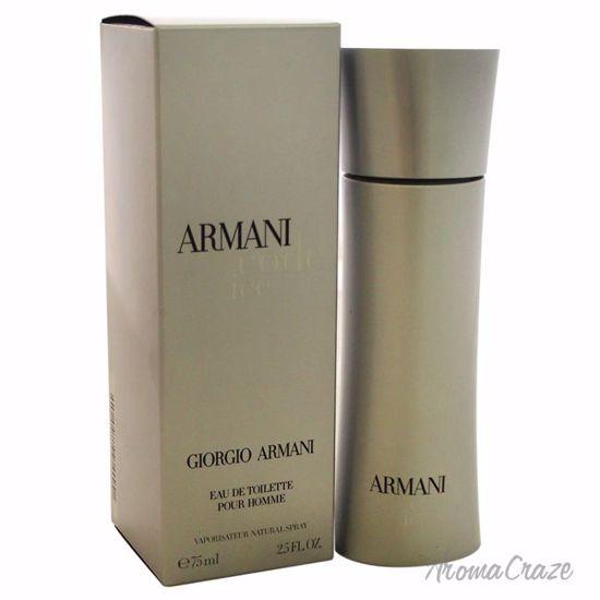 Armani By Giorgio Armani Code Ice Edt Spray For Men 25 Oz
