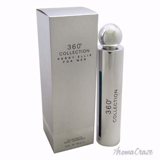 Perry Ellis 360 Collection EDT Spray for Men 3.4 oz