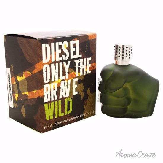 Diesel Only The Brave Wild EDT Spray for Men 2.5 oz