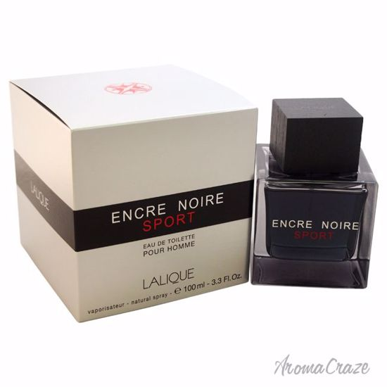 Lalique Encre Noire Sport EDT Spray for Men 3.3 oz