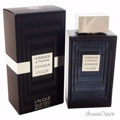 Lalique Hommage a l'Homme Voyageur EDT Spray for Men 3.3 oz