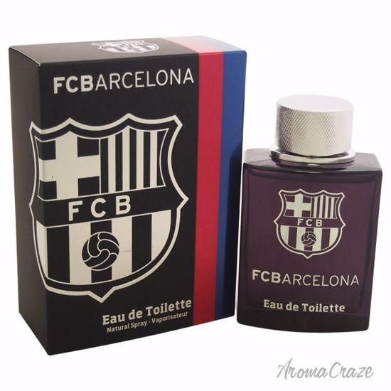 FC Barcelona FC Barcelona Black EDT Spray for Men 3.4 oz