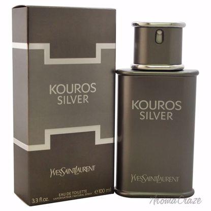 Kouros Body by Yves Saint LaurentSilver EDT Spray for Men 3.