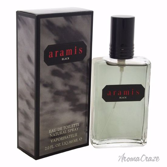 Aramis Black EDT Spray for Men 2 oz