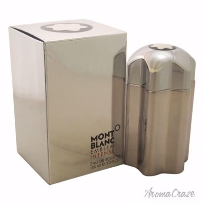 Mont Blanc Emblem Intense EDT Spray for Men 3.3 oz
