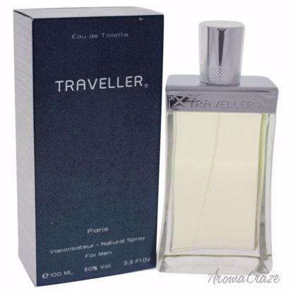 Paris Bleu Traveller EDT Spray for Men 3.3 oz
