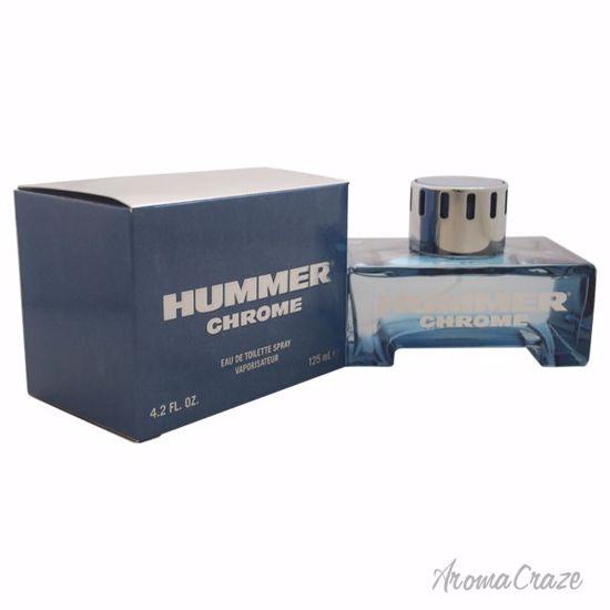 Hummer Chrome EDT Spray for Men 4.2 oz