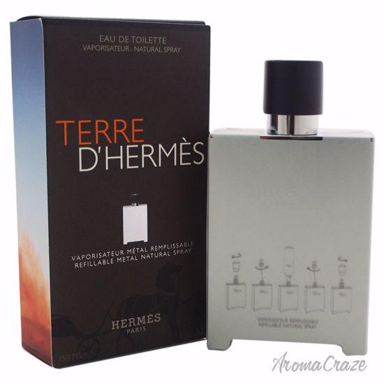 Hermes Terre D'Hermes EDT Refillable Metal Spray for Men 5 o