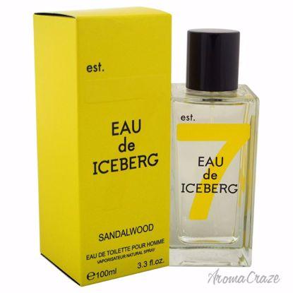 Eau de Iceberg Sandalwood EDT Spray for Men 3.3 oz