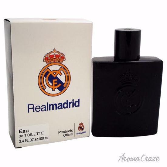 Real Madrid Real Madrid Black EDT Spray for Men 3.4 oz
