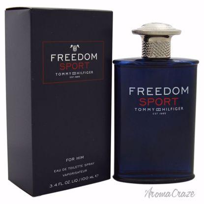 Tommy Hilfiger Freedom Sport EDT Spray for Men 3.4 oz