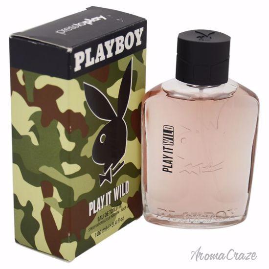 Playboy Play It Wild EDT Spray for Men 3.4 oz