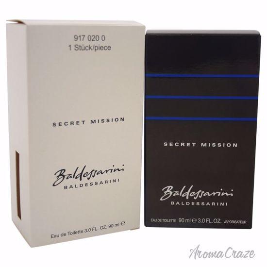 Hugo Boss Baldessarini Secret Mission EDT spray for Men 3 oz