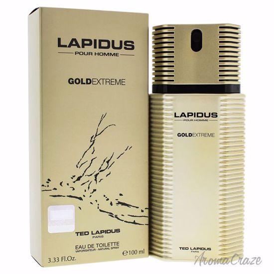 Ted Lapidus Gold Extreme EDT Spray for Men 3.4 oz
