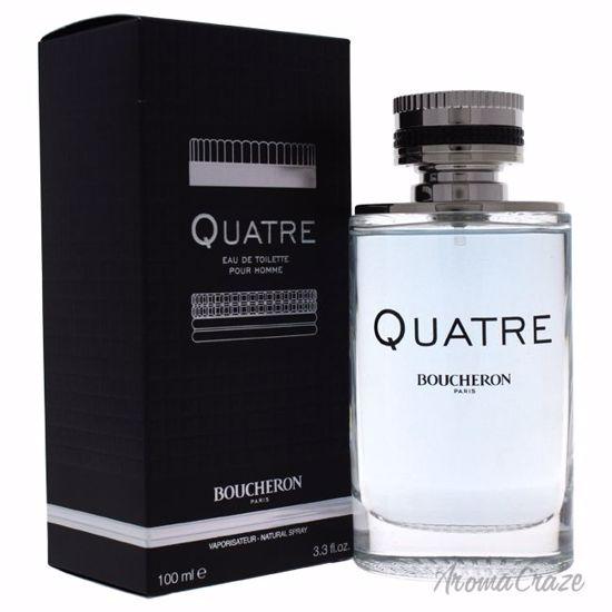 Boucheron Quatre EDT Spray for Men 3.3 oz