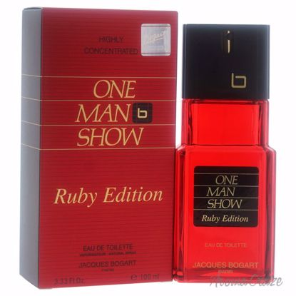 Jacques Bogart One Man Show EDT Spray (Ruby Edition) for Men